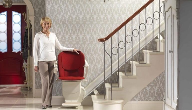 chaise monte escalier